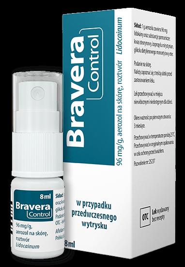 Bravera Control lek przedwczesny wytrysk